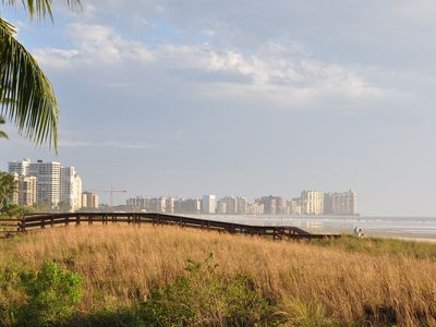Photo for Stunning Views, Private Beach Access, Deluxe 2 Bedroom/ 2 Bath, WiFi & Parking