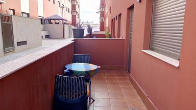Photo for Nice apartment on the ground floor with balcony