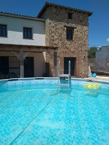 Photo for Comfortable holiday home with private pool, for walkers or just for relaxing!