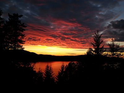 Photo for Highlands Sunset House is located on beautiful Orcas Island.