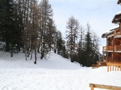 Photo for Rent the plagne 2 rooms 27m2 4-5 pers. terrace at the foot of the south west slopes