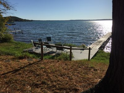 Photo for Single Family Cottage on Torch Lake (private access) & walking distance to Alden