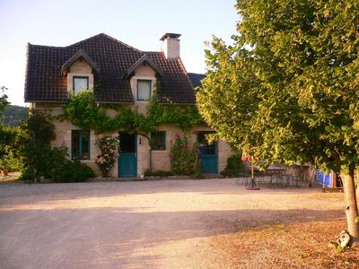 Photo for 4 bedrooms 2 bathrooms 10 people, with pool and large garden beautifully decorated
