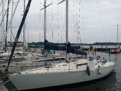 Photo for Holiday on a yacht, in the beautiful natural harbor Gustow
