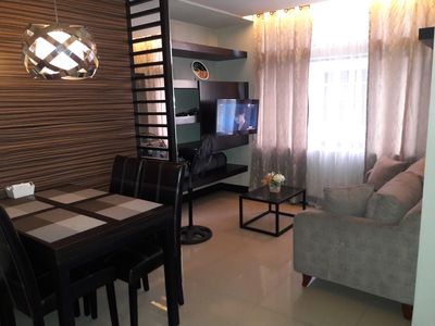 Photo for Manhattan Parkway , Araneta Center 2Bedrooms, 2 Bath, Fully Furnished.