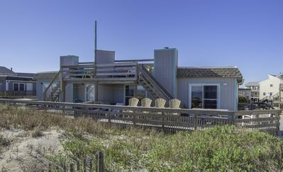 Photo for OBX Oceanfront: Stay in Comfort in this Little Cottage. Views, Views, Views!