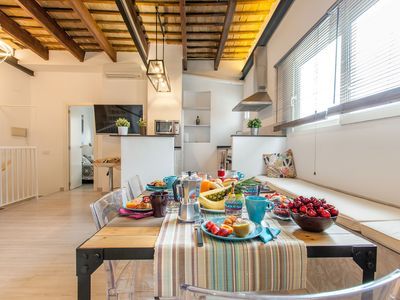 Photo for Cabanyal-3 Bed, Beach-City Penthouse-Terrace-WI-FI