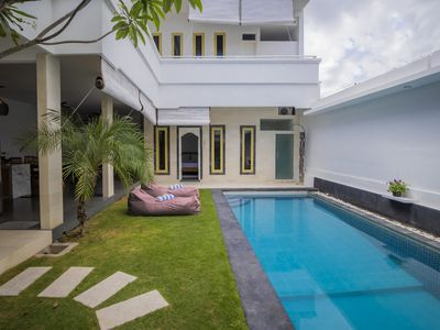 Photo for Private 3BR Villa + Pool + 800m from Seminyak Centre