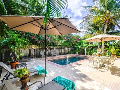 Photo for Tropical 3 Bedroom, 3.5 Bath Private Home With Lagoon Pool