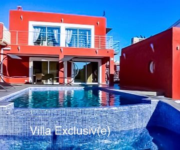 Photo for SPACIOUS 6 BEDROOM HOLIDAY VILLA, HEATED PRIVATE POOL, OUTDOOR WHIRLPOOL + WIFI