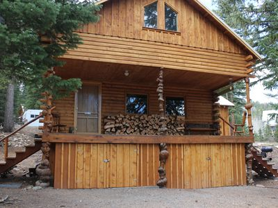 Photo for Cabin near Yellowstone!  Next to Shoshone National Forest.