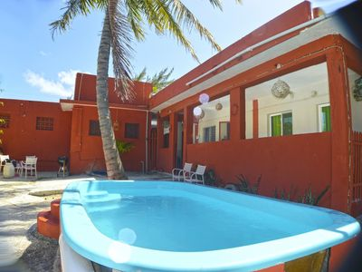 Photo for Cassona Roja suite 2 with AC in Puerto Morelos