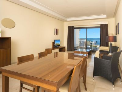 Photo for Apartment in 4**** resort in Estepona - 5 persons, 2 bedrooms