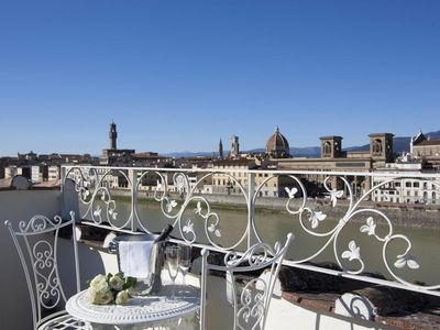 Photo for CHARMING APARTMENT in Oltrarno with Wifi. **Up to $-311 USD off - limited time** We respond 24/7