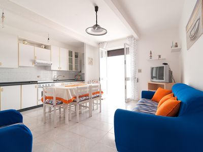 Photo for Sea Dreams  apartment in Torre San Giovanni with private terrace & balcony.