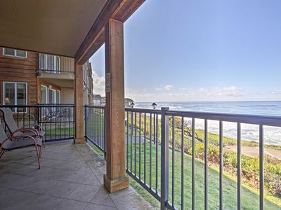 Photo for Spacious Resort Condo - Steps to Lincoln Beach!