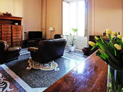 Photo for Beautiful apartment for 9 guests with WIFI, TV, balcony and parking