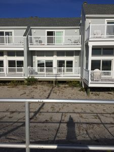 Photo for Beach Front - Right On The Boardwalk - Sunday to Sunday rental