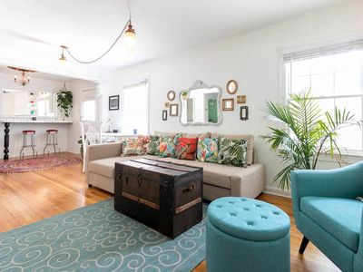 Photo for Charming 1950's Bungalow In A Great Neighborhood Near UT, Walk To Cafes & Bars