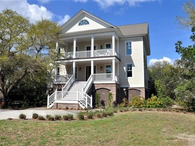 Photo for Come Stay in this Enchanting Home Where your Entire Family can Relax and Enjoy the Gourmet Kitchen and Spacious Porches