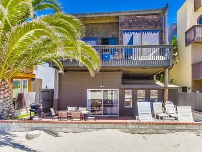 Photo for Tropical Home in South Mission Beach with Very Large Ground Floor Patio