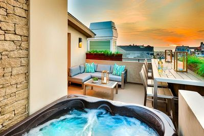 25 Off Jan Modern Luxury Private Rooftop Jacuzzi On Deck W
