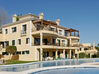 Photo for Large, recently renovated villa with views, 2 pools and beautiful gardens.