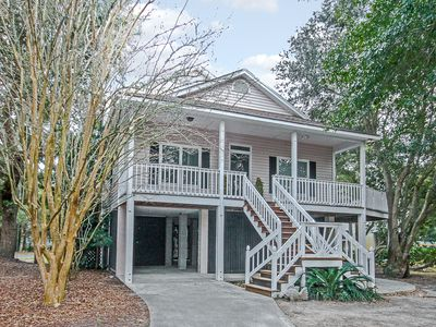 Photo for Book Soon For New Lower Rates! Large Private Porch & Walking Distance To Beach!