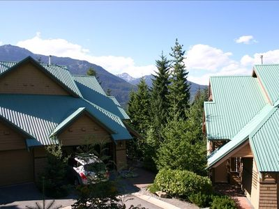 Quiet Powderwood community sits above Whistler Creekside Village near ski runs