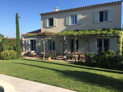 Photo for In St Rémy de Provence, large house, privileged residential area and calm