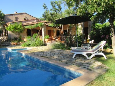 Photo for Les Moulieres - Provencal Farmhouse  with private pool and separate guest house