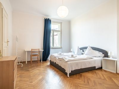 Photo for Spacious Three Bedroom Apartment in Vinohrady by easyBNB