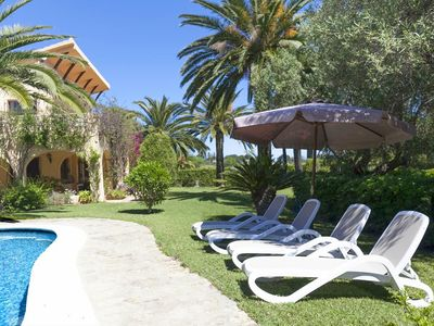 Photo for Casa Huerto beautiful villa with swimming pool and spacious garden