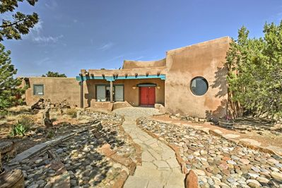 This beautiful adobe home offers all the comforts of home!