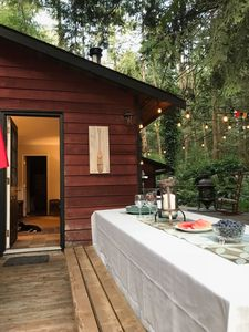 Photo for Beautiful Cabin on the Alouette River