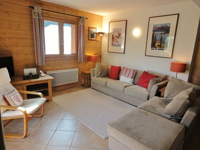 Photo for 3 bed Ski Apartment, Le Bettex, Trois Vallees, Savoie