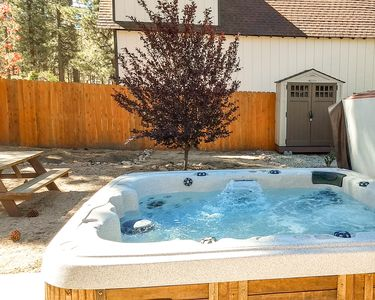 Hot Tub - Enjoy stargazing from your private hot tub.