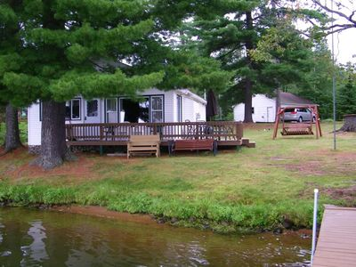 Eagle River Chain, Duck Lake Water Front Cabin