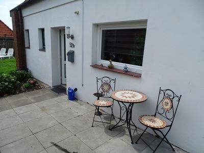 Photo for Great Hookie, holiday home for up to 4 people in Hooksiel with garden