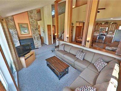 Photo for Ski-in/ski-out condo with loft, gorgeous views, and indoor hot tub