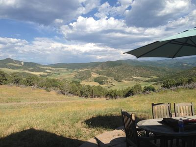 The view from the Porch as captured by the Flores family! Come on out!!
