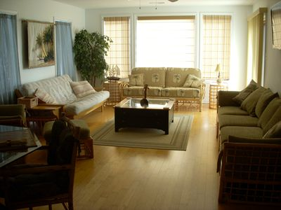 Casual elegance with tons of room to relax and enjoy!
