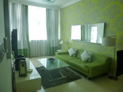 Photo for 1 Bedroom apartment with Marina View situated end of JBR.
