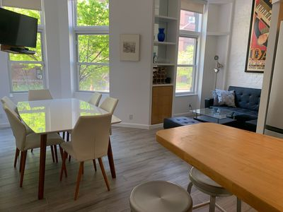Photo for 2BR + large sleeping loft/2Bath 1 block from Central Park on UWS