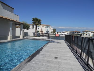 Photo for NEW! HOUSE - MARINA D'AIGUES-MORTES - PRIVATE RESIDENCE WITH SWIMMING POOL