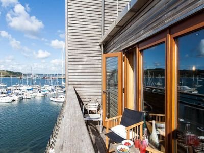 Photo for Wonderful Waterfront Apartment In The Centre Of Falmouth