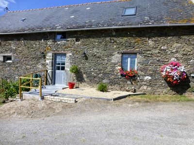 Photo for Renovated Barn In Central Brittany close to the Nantes Brest canal