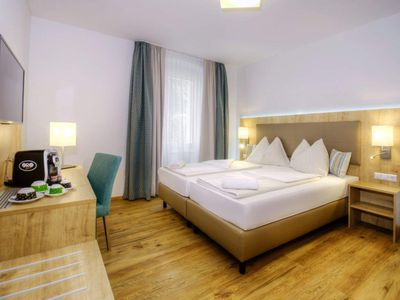 Photo for Double room, shower, toilet, standard - Hotel Bergkristall