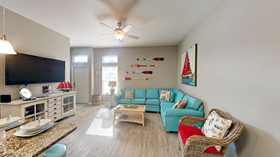 Photo for Padre Beach View Home w/ Saltwater Pool