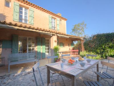 Photo for 3 bedroom Villa, sleeps 6 in La Bouillabaisse with Pool and WiFi